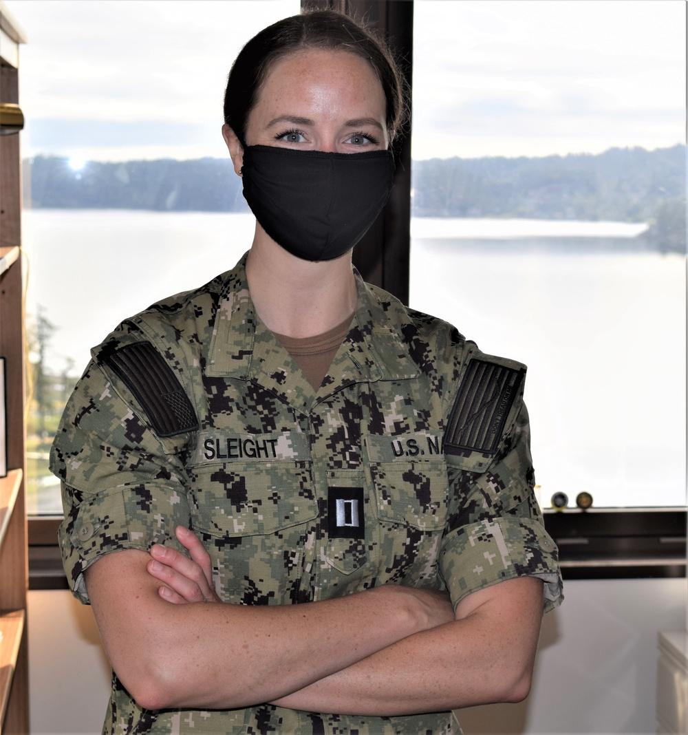 I Am Navy Medicine – Lt. Caitlin Sleight, clinical psychologist - at NMRTC Bremerton
