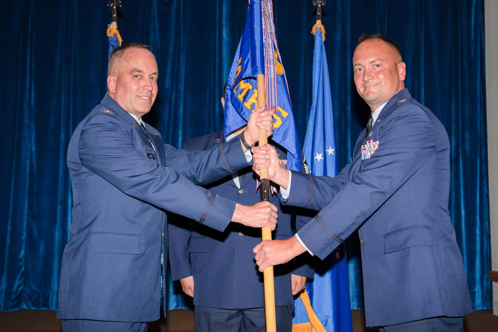 90 OMRS welcomes new commander