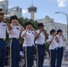 """""""Fort Sam's Own"""" 323d Army Band and 313th Army Band perform at The Alamo"""