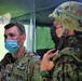 MG Laura Yeager visits bilateral Fire Direction Center Yausubetsu Training Area June 28