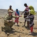 Army soldier bonds with Djiboutian locals