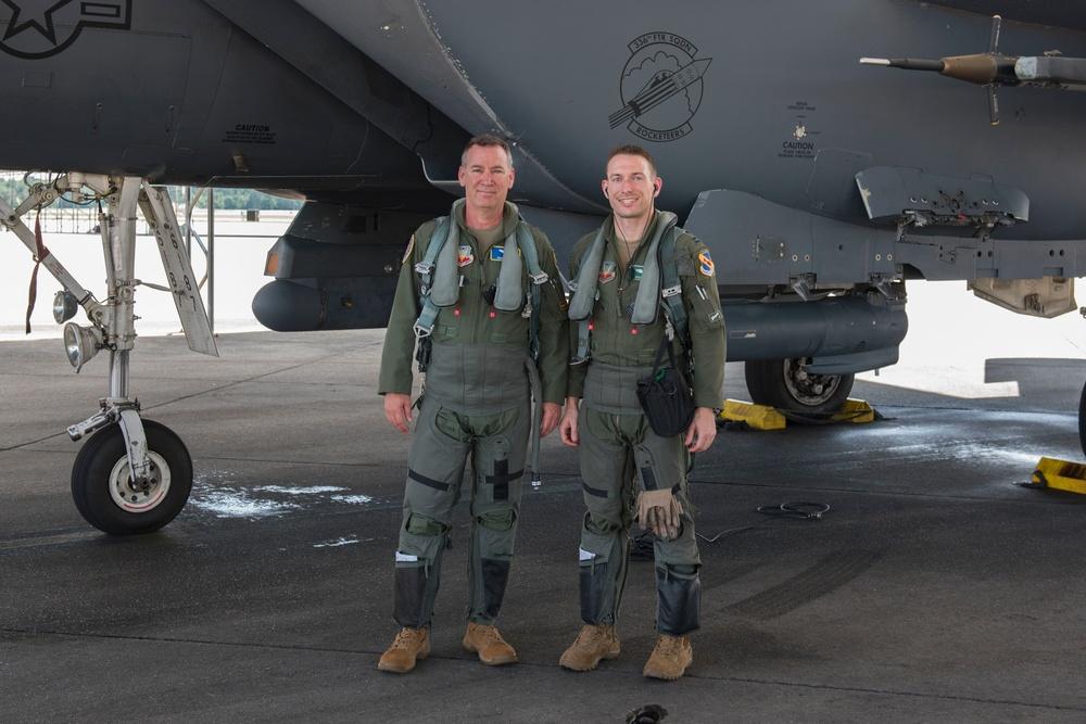 Maj. Gen. Franks visits Team Seymour