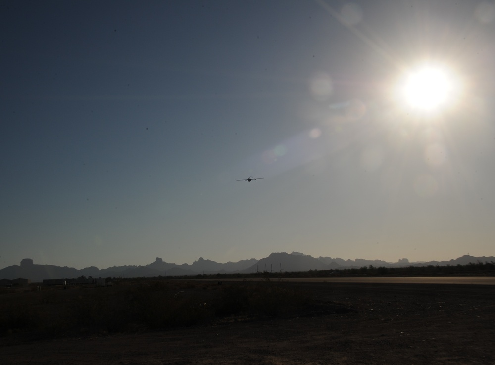 What you will see over the skies of Yuma Proving Ground