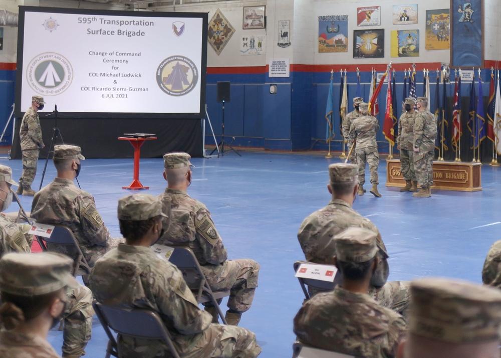 'Desert Knights' hold change of command at Camp Arifjan, Kuwait
