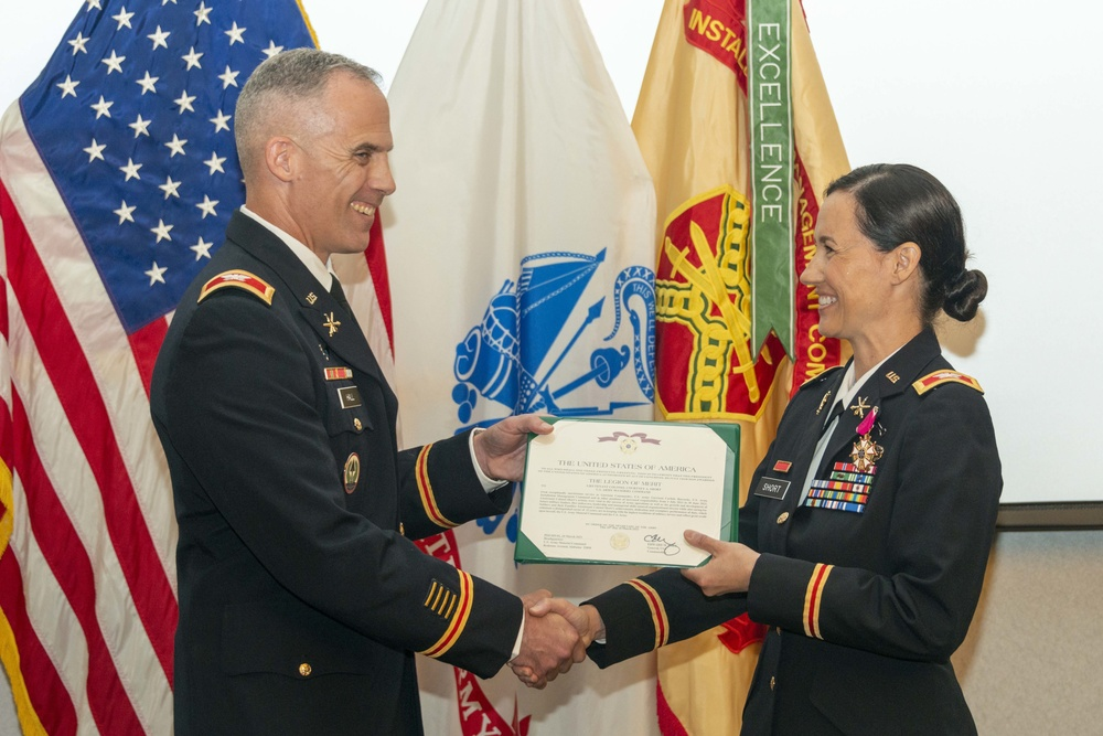 Col. Courtney Short retires after more than 22 years active duty service
