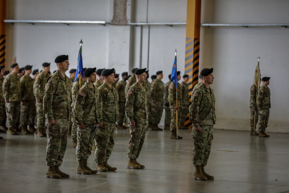 The 1-3rd Attack Battalion Change of Command