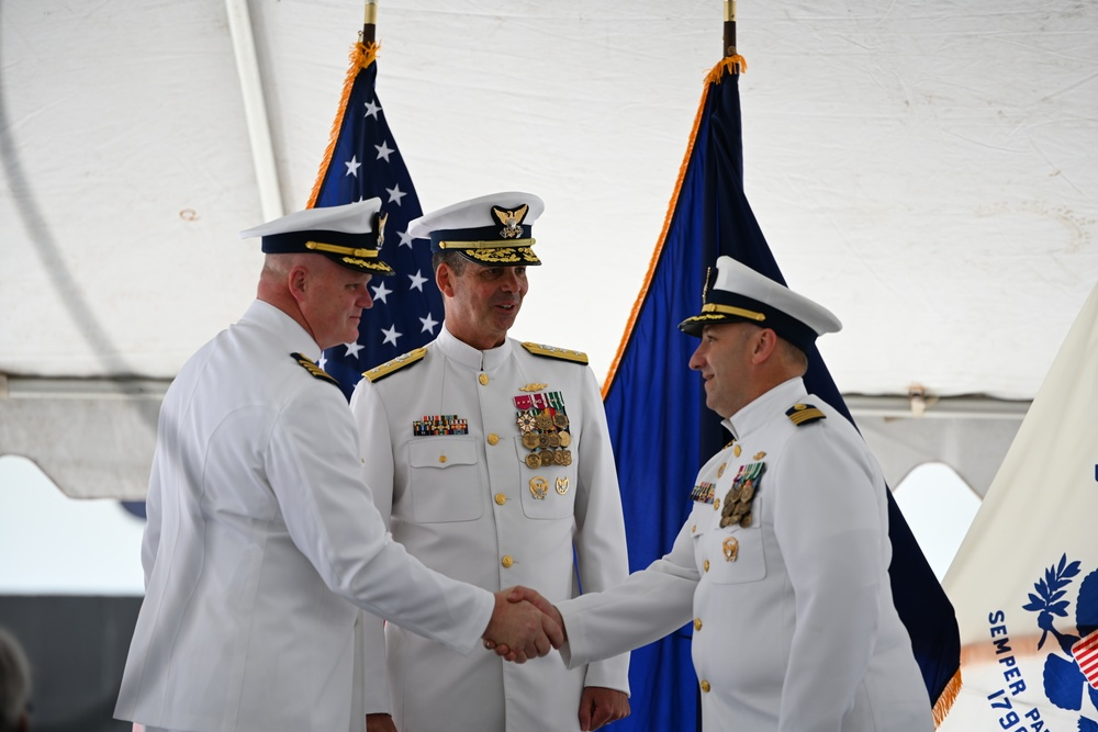 Coast Guard Sector Juneau holds change of command ceremony