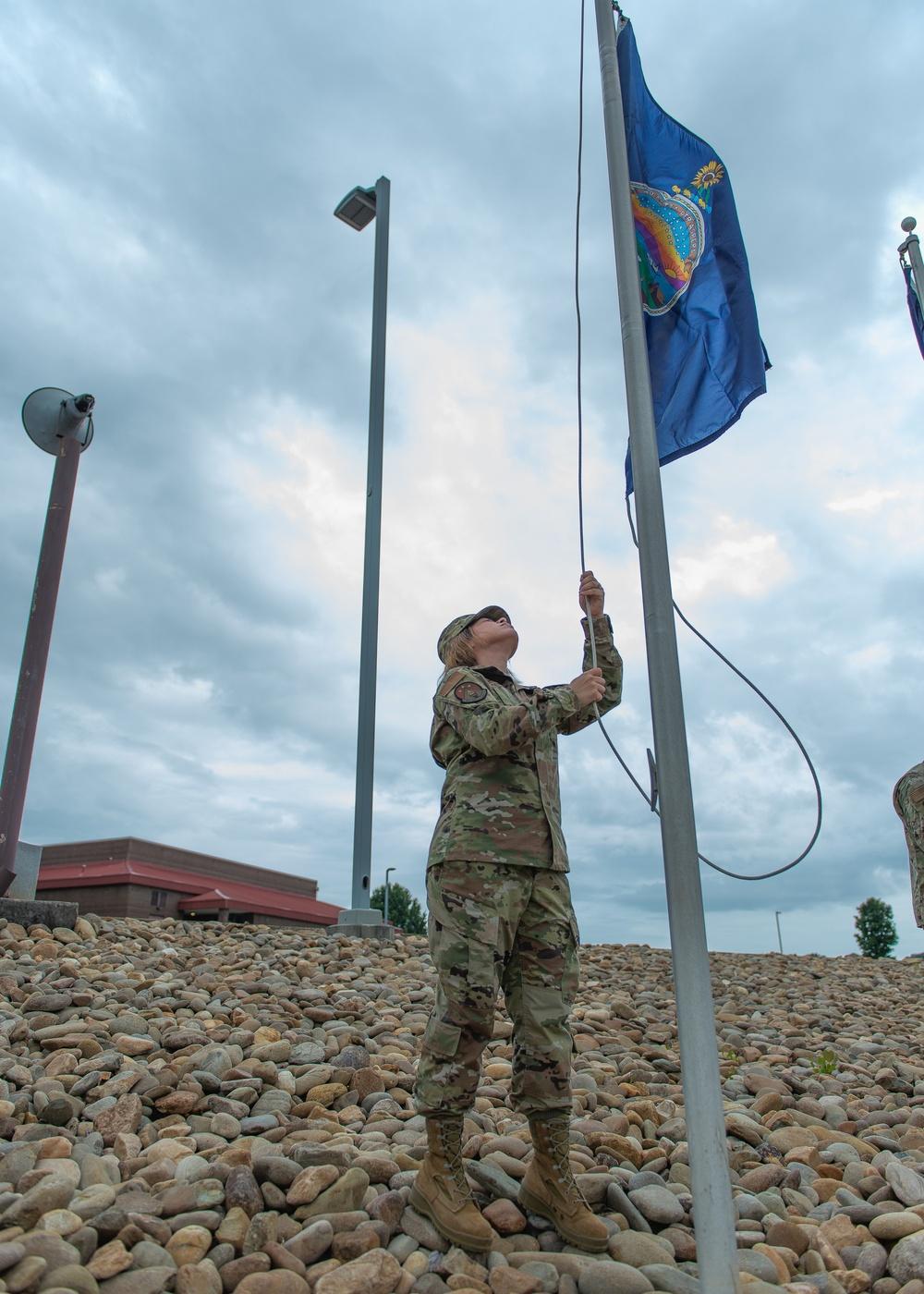 State flag raise