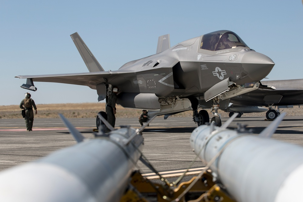 Summer Fury 21: 3rd MAW Refuels and Reloads in Washington