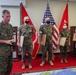 Japan Ground Self-Defense Force Major General awards three U.S. Marines and one Sailor