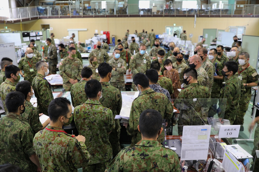 40th Infantry Division Hones Multi-Domain Operations in Japan