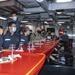 Representatives from the Japan Maritime Self Defense Force, Royal Australian Navy and Republic of Korean Navy meet aboard USS Rafael Peralta (DDG 115)
