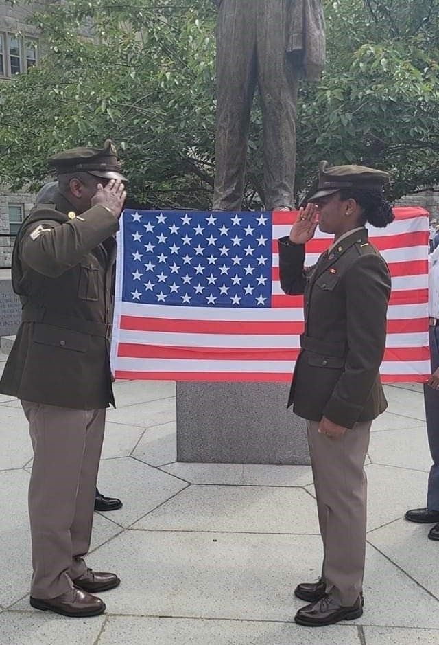 Military proud family continues tradition of patriotism, service as officers