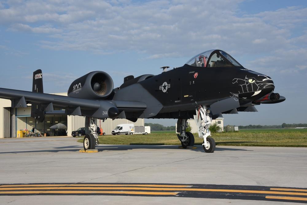 Indiana ANG Black A-10
