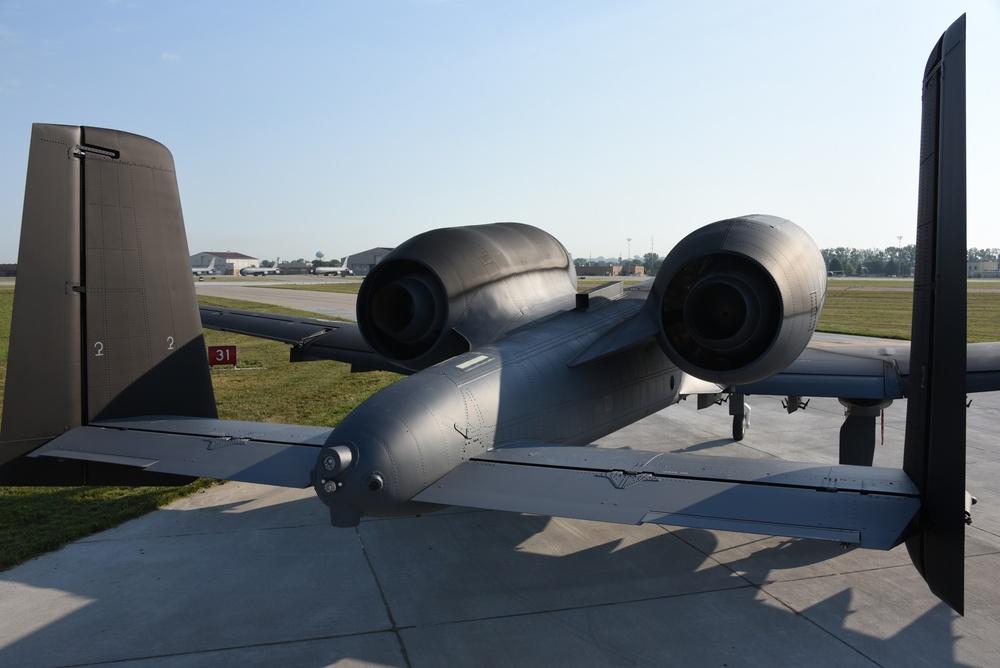 Black and grey ANG A-10