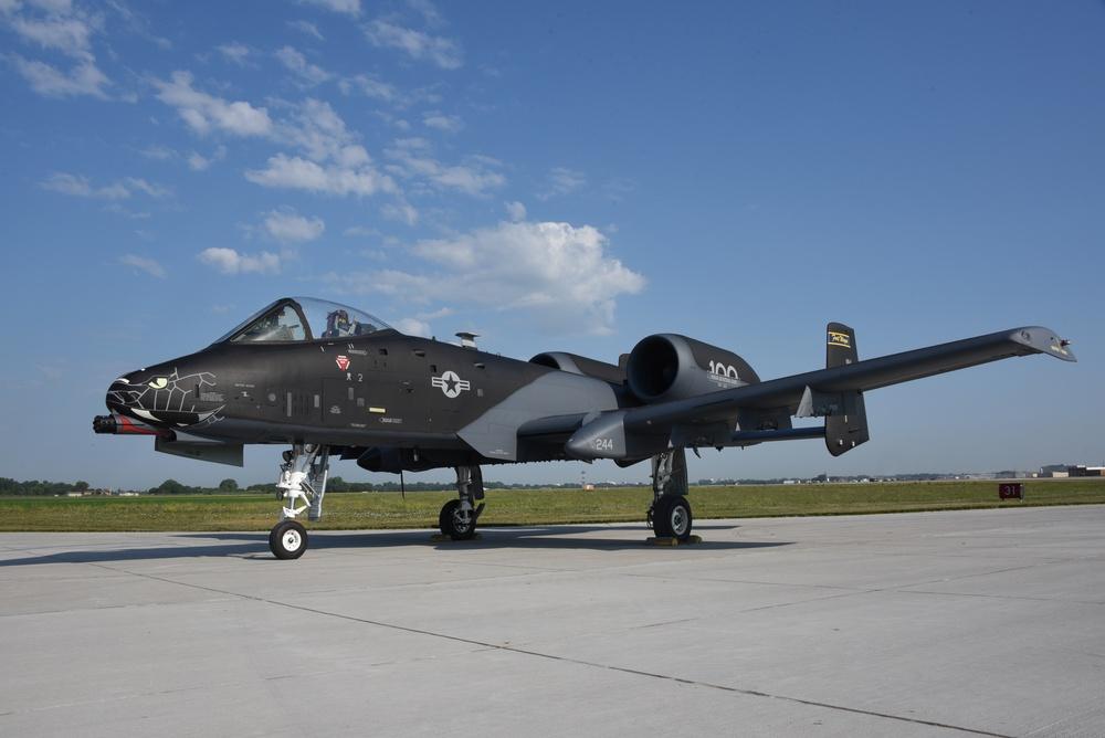 Black A-10 Indiana ANG