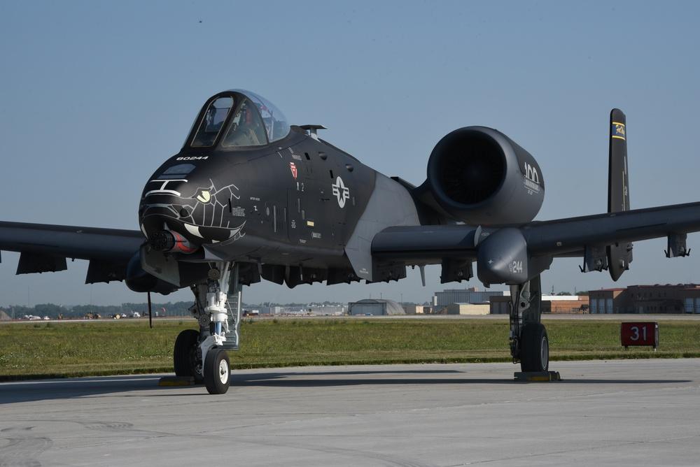 Blacksnakes A-10 Indiana ANG