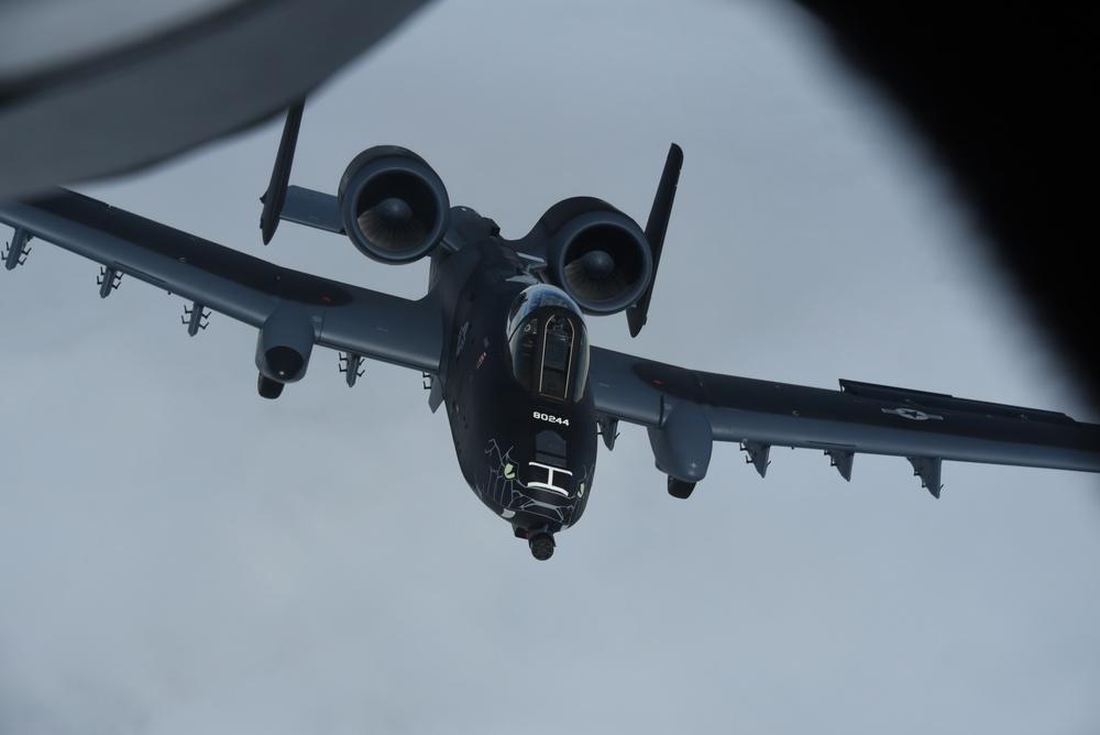 Flying Indiana ANG Blacksnake