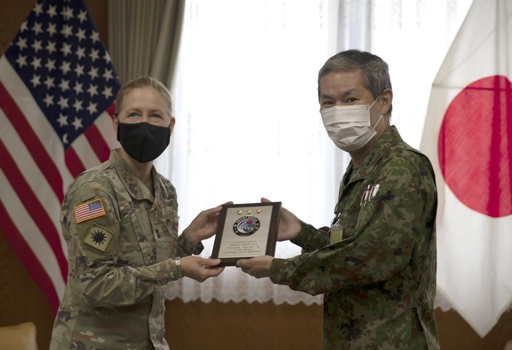 Bilateral training Orient Shield 21-2