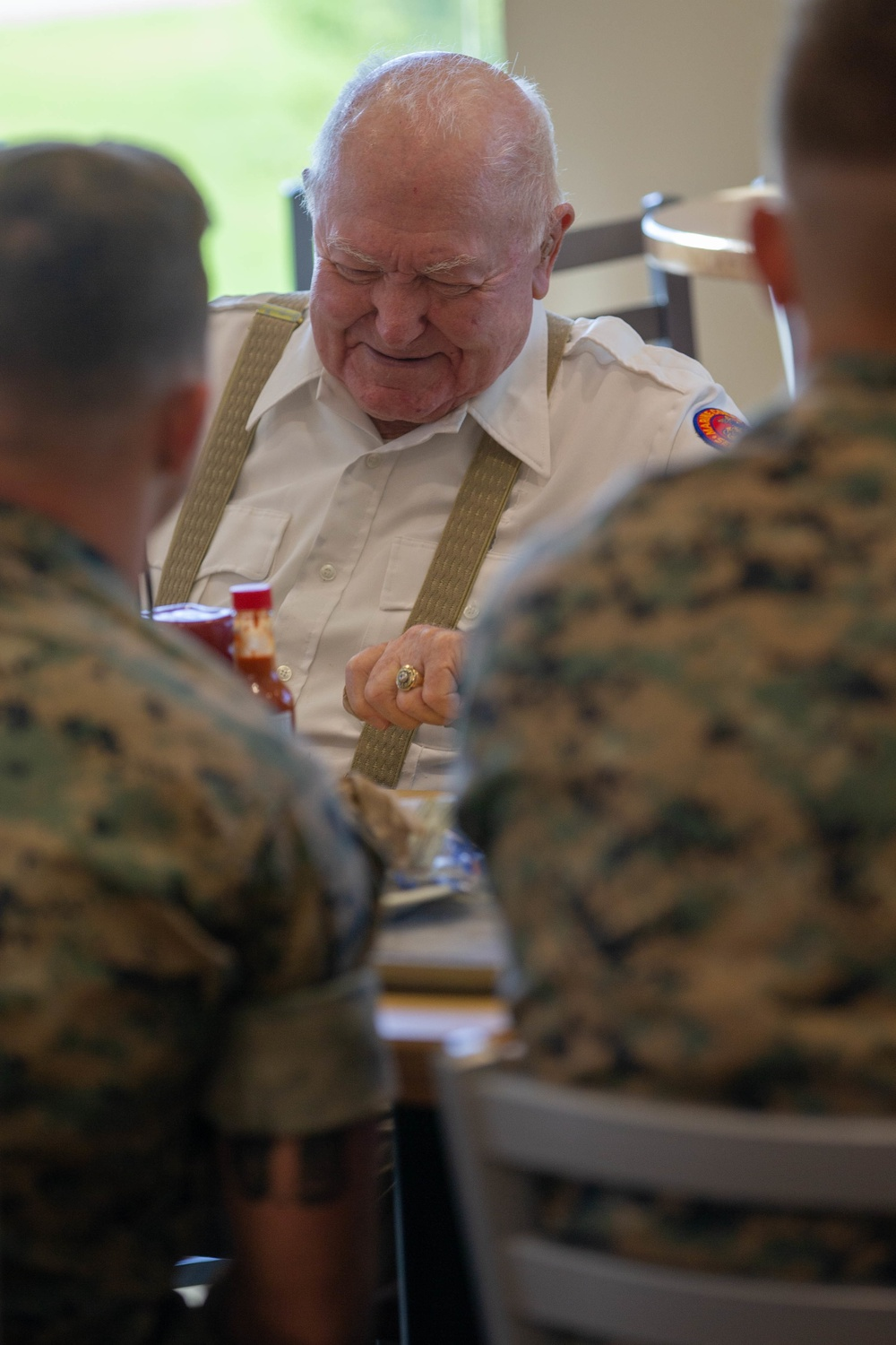 Connecting Generations: Once a Marine, Always a Marine
