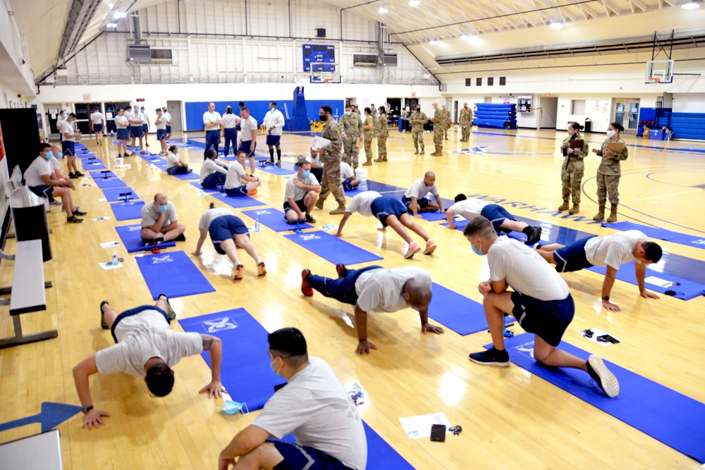 433rd AW resumes fitness testing
