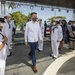 Chargé d'Affaires of the United States Embassy Boards USS Billings