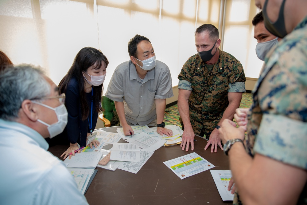 Artillery Relocation Training Program Annual Planning Conference takes place on Okinawa