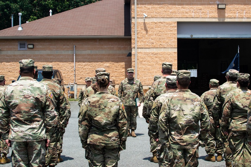 Legal Command Soldiers Recognize Excellence, Dedication