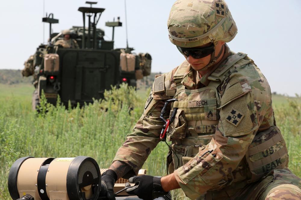 2nd Stryker Brigade Combat Team begins field time