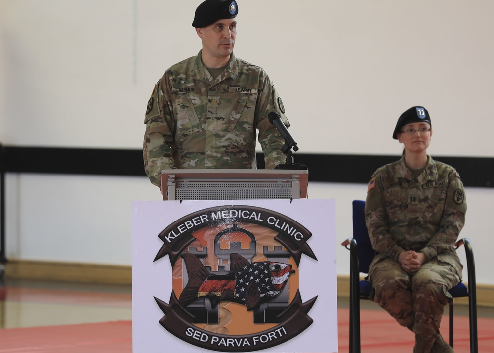 """""""Small but mighty"""" Army health clinic welcomes new commander"""