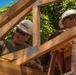 Citizen Airmen, Marines earn Girl Scout construction badge