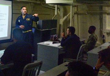 USS John P. Murtha (LPD 26) Security Training
