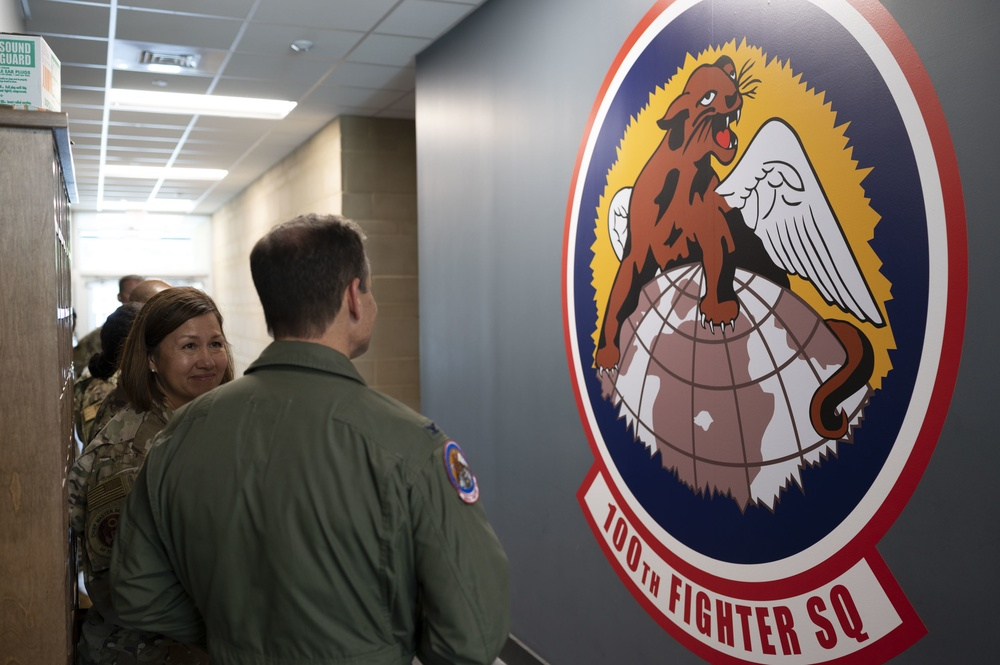 CMSAF Bass Visits Dannelly Field