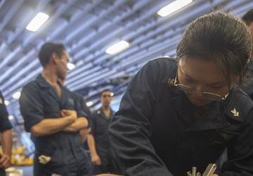 USS America conducts damage control training