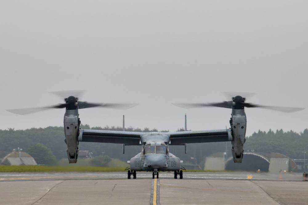 VMM-262 Arrives at NAF Misawa