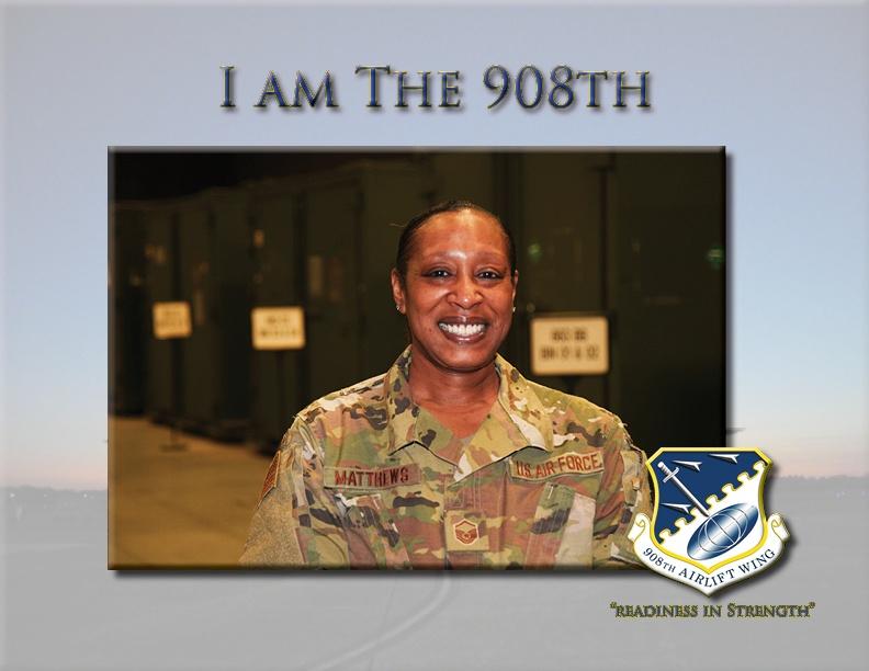 I am The 908th: Master Sgt. Vickey Matthews