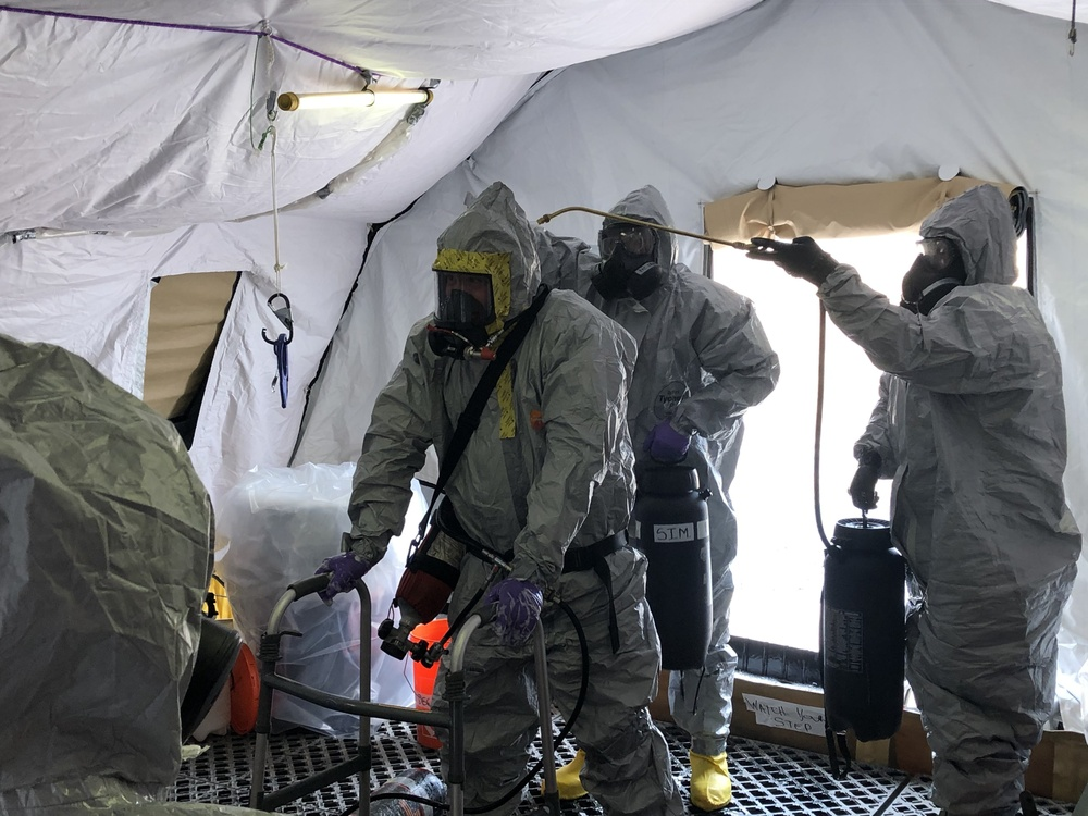 U.S. Army units clear chemical munitions from New Jersey military base