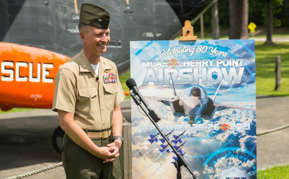 2021 MCAS Cherry Point Air Show announcement