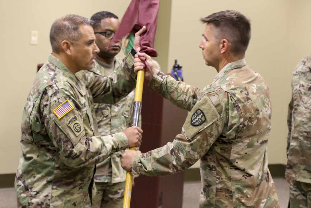 7306th MESB Change of Command