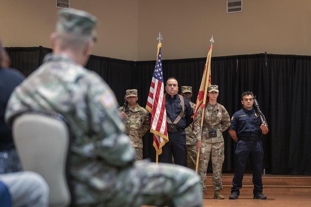 Bliss garrison changes command, former Bragg Infantry officer takes helm