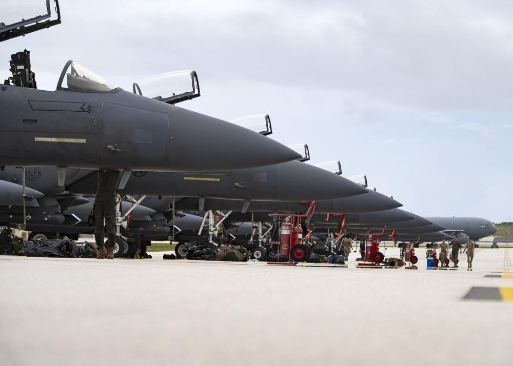 F-15E Strike Eagles Arrive for Pacific Iron 2021
