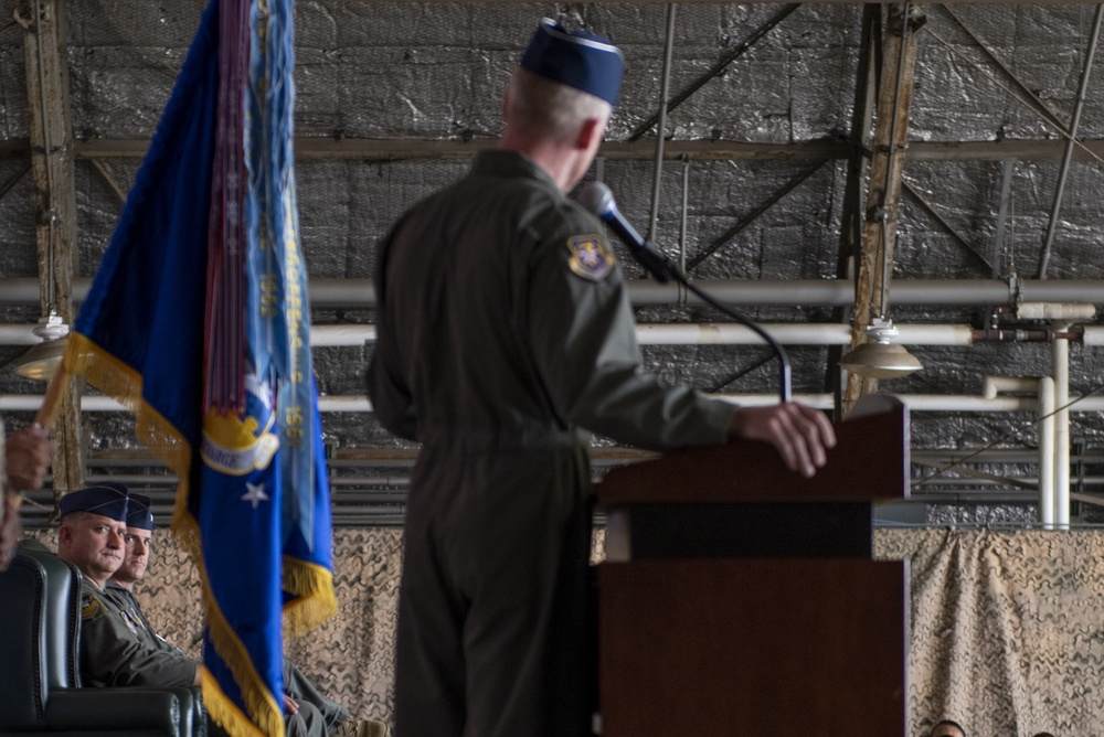 51st FW Change of Command