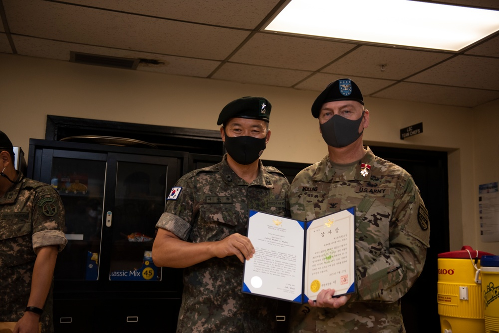 3-BCD-K change of command