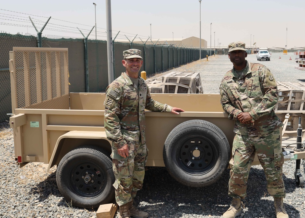 CTEF-I empties Lot 54, delivers military vehicles, firearms to Iraqi security forces