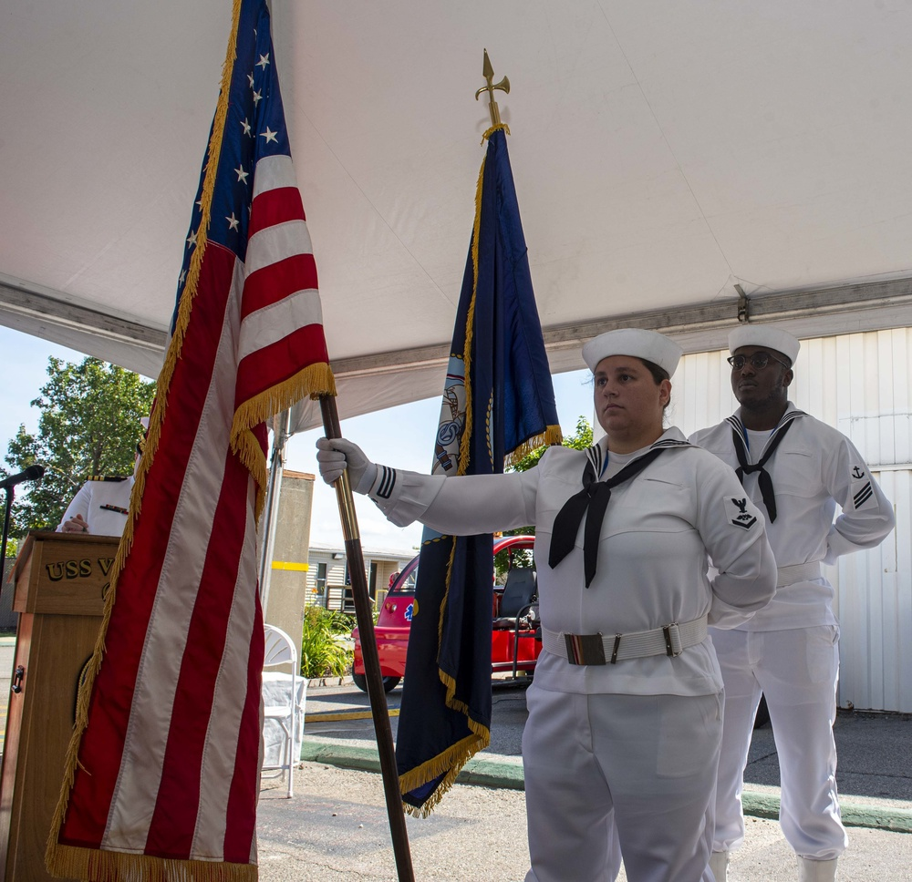 USS Vicksburg (CG 69) Change of Command
