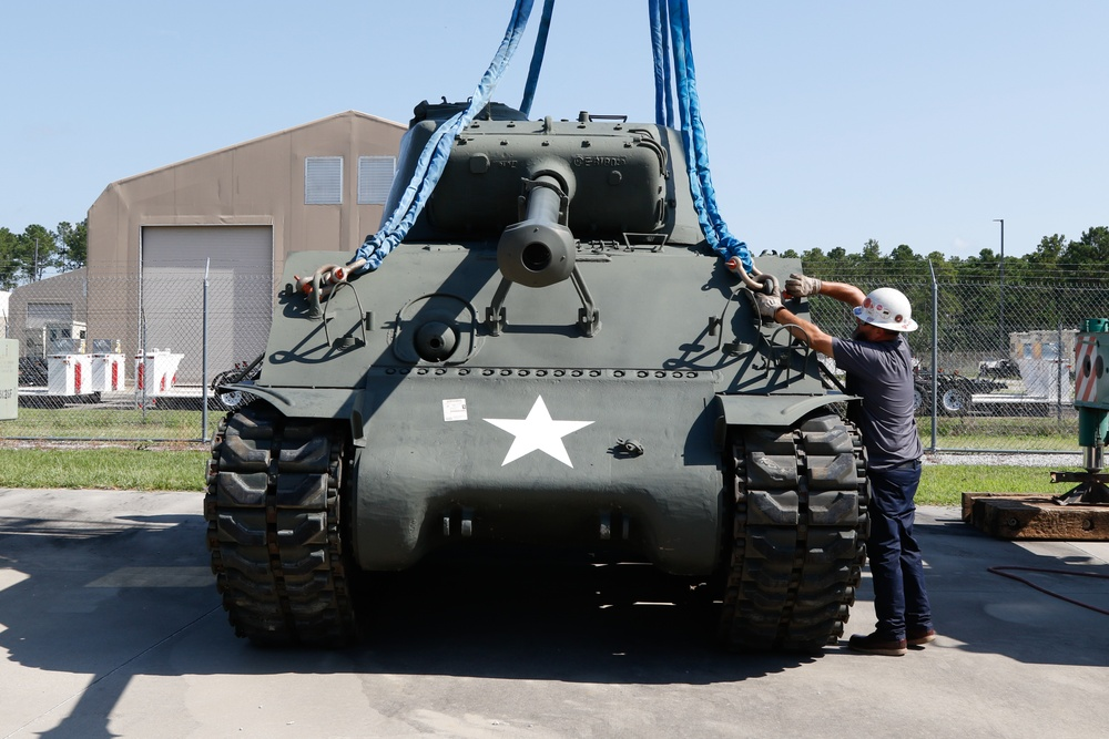 Piece of Army History Joins USARCENT Family