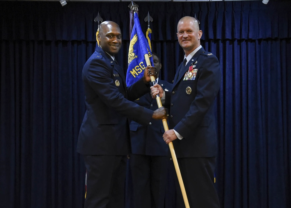 82nd MSG Change of Command