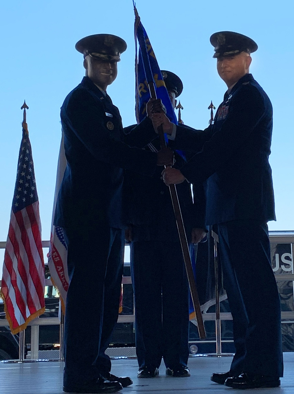 782nd TRG Change of Command