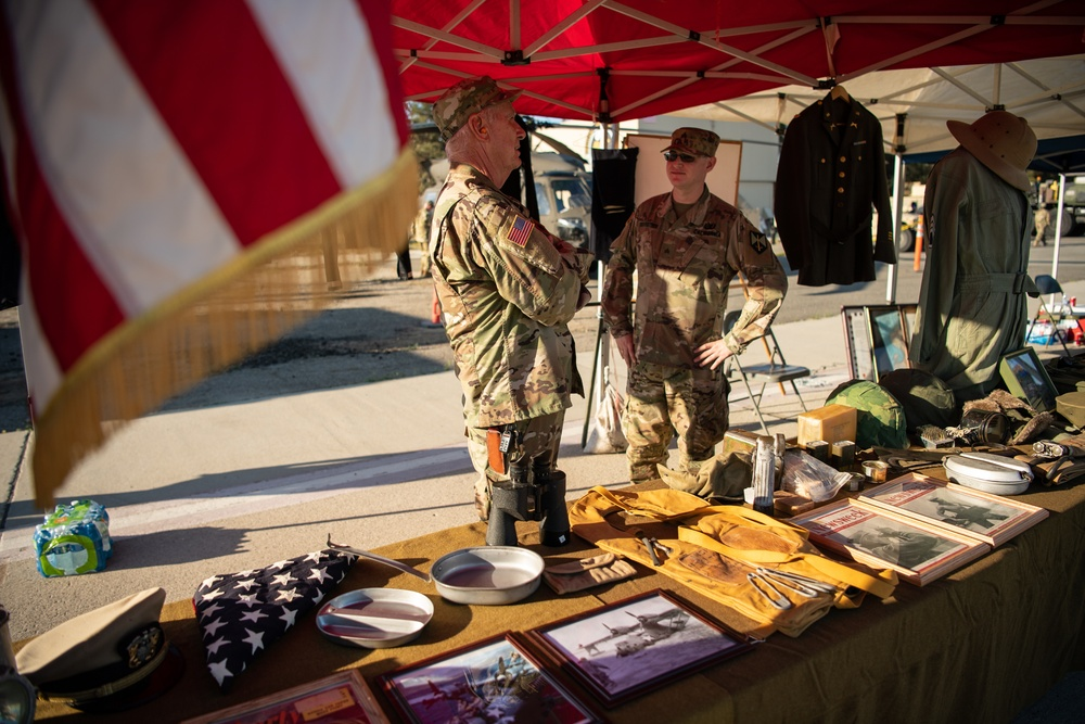 Military Museum Command displays artifacts at July 4 Fireworks Spectacular