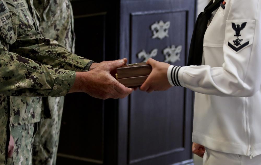Crewman Qualification Training (CQT) Class 115 graduates to become Special Warfare Combatant-craft Crewmen (SWCC)
